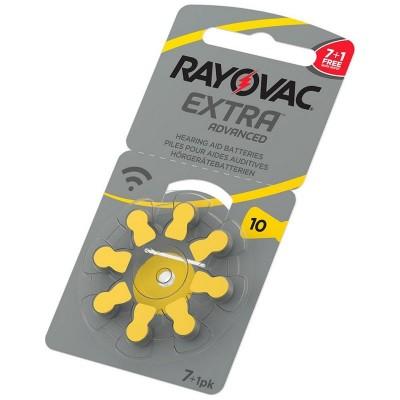 Батарейки RAYOVAC EXTRA ADVANCED 10, 8 шт./уп.