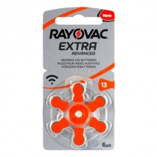 Батарейки RAYOVAC EXTRA ADVANCED 13, 6 шт./уп.