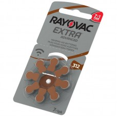 Батарейки RAYOVAC EXTRA ADVANCED 312, 8 шт./уп.