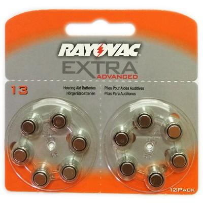 Батарейки RAYOVAC EXTRA ADVANCED 13, 12 шт./уп.