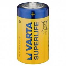 Батарейка VARTA SUPERLIFE D ZINK-CARBON, 6 шт./уп. (02020101306)