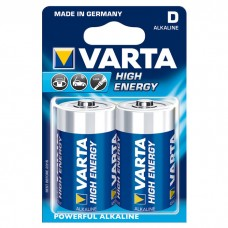 Батарейка VARTA HIGH Energy D ALKALINE, 2 шт./уп. (04920121412)