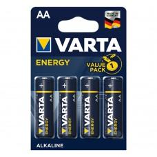 Батарейки VARTA ENERGY AA, 4 шт./уп.