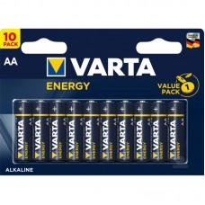 Батарейки VARTA ENERGY AA, 10 шт./уп.