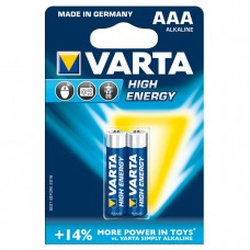 Батарейка VARTA HIGH Energy AAA ALKALINE, 2 шт./уп. (04903121412)