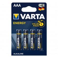 Батарейки VARTA ENERGY AAA, 4 шт./уп.