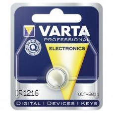 Батарейка VARTA CR 1216 LITHIUM (06216101401)