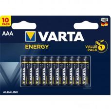 Батарейки VARTA ENERGY AAA, 10 шт./уп.