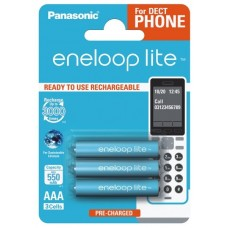 Аккумуляторы Panasonic Eneloop Lite AAA 600 mAh (min.550mah), 3 шт./уп.
