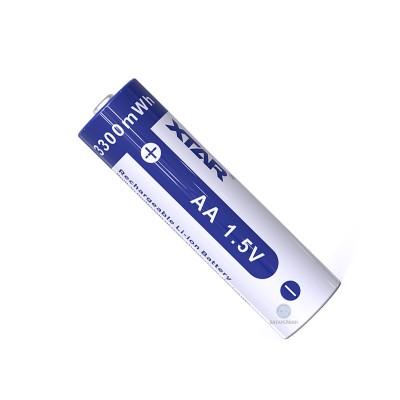 Аккумулятор АА литий-ионный 1,5V Xtar 3300mWh (2000mAh), Li-ion
