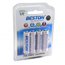 Аккумулятор Beston AA 2500 mAh, 4шт./уп. (AAB1820)