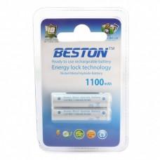 Аккумулятор BESTON AAA 1100 mAh RTU, 2 шт./уп. (AAB1814)