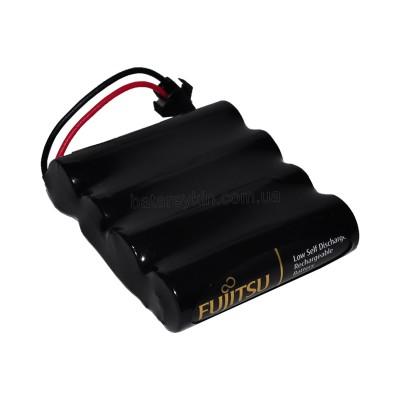 Аккумуляторная батарея 4.8V из Fujitsu AA 2450 mAh Ni-Mh