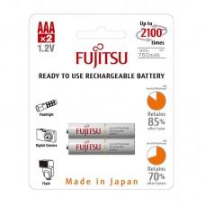 Аккумуляторы Fujitsu AAA 800 mAh, 2 шт./уп., (HR-4UTCEU(2B))