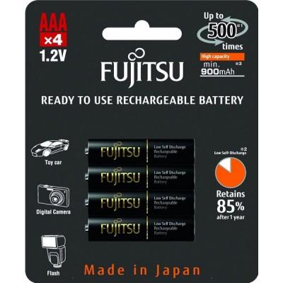 Аккумуляторы Fujitsu AAA 950 mAh, 4 шт./уп., (HR-4UTHCEU(4B))