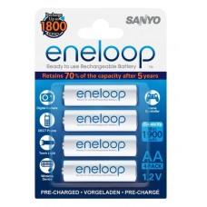 Аккумуляторы Sanyo Eneloop AA 2000 mAh (4 шт. в блистере)