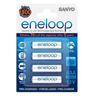 Аккумуляторы Sanyo Eneloop AAA 800 mah ( в блистере)