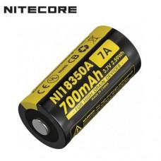 Аккумулятор Nitecore NL18350A 700 mah 7A, Li-ion
