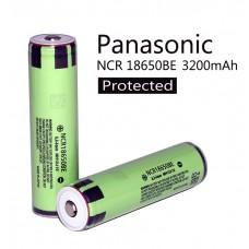 Аккумулятор Panasonic NCR18650BE 3200 mAh с защитой (Protected)