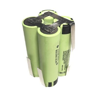 Аккумуляторная сборка 7.2V 6700mAh из Panasonic NCR18650B Li-ion