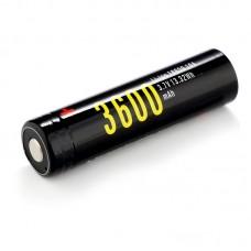 Аккумулятор Soshine 18650 3600 mAh Li-ion с micro USB, с защитой (Protected)