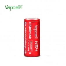 Аккумулятор Vapcell K54 INR26650 5400 mah 15A, Li-ion