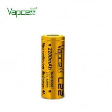 Аккумулятор Vapcell L22 INR18500 2200 mah 4A, Li-ion