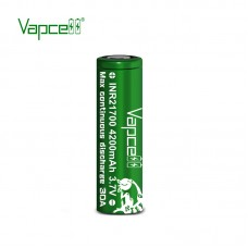 Аккумулятор Vapcell INR21700 4200 mah 30A, Li-ion