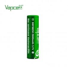 Аккумулятор Vapcell INR18650 2600 mah 25A, Li-ion