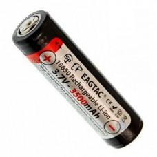 Аккумулятор EagTac 18650 3500 mAh Li-ion с защитой (Protected)