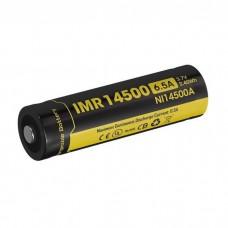 Аккумулятор IMR Nitecore NI14500A 650 mAh Li-Ion