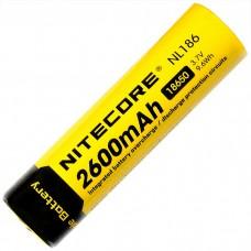 Аккумулятор Nitecore NL186 18650 2600 mAh с защитой (Protected)