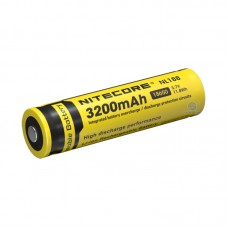 Аккумулятор Nitecore NL188 18650 3200 mAh с защитой (Protected)