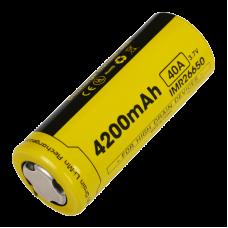 Аккумулятор Nitecore IMR26650 4200 mAh Li-ion