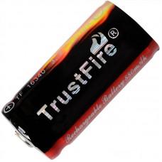Аккумулятор TrustFire 16340 /CR123A 880 mAh Li-ion с защитой