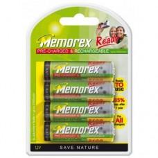 Пальчиковые АА аккумуляторы Memorex Ready 2100 mah