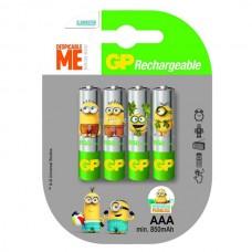 Аккумуляторы GP Recyko Minion AAA 850 mah, 4 шт./уп.