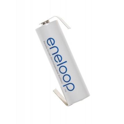 Аккумулятор Panasonic Eneloop AA 2000 mAh (min.1900mah) с лепестками под пайку (BK-3MCCE/BFT), без упаковки