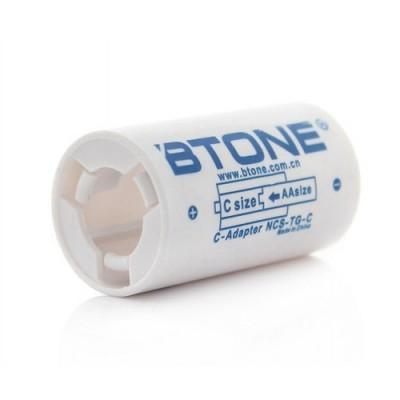 "Адаптер-переходник Btone с пальчикового аккумулятора ""АА"" на ""C"" аккумулятор"