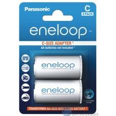 Адаптер-переходник Panasonic Eneloop AA=>C, 2 шт./уп. (BQ-BS2E/2E)