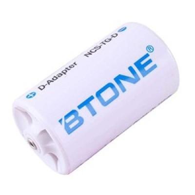 "Адаптер-переходник Btone с пальчикового аккумулятора ""АА"" на ""D"""