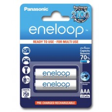 Аккумуляторы Panasonic Eneloop AAA 800 mAh (min.750mah), 2 шт./уп. | УЦЕНКА