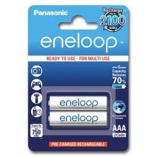Аккумуляторы Panasonic Eneloop AAA 800 mAh (min.750mah), 2 шт./уп. (BK-4MCCE/2BE)