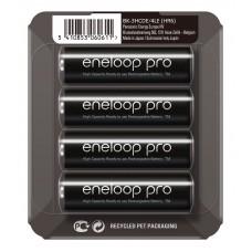 Аккумуляторы Panasonic Eneloop Pro AA 2600 mAh (min.2500mah), 4 шт./уп. Sliding Pack, (BK-3HCDE/4LE)