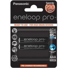 Аккумуляторы Panasonic Eneloop Pro AAA 950 mAh (min.930mah), 2 шт./уп. (BK-4HCDE/2BE)