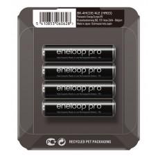 Аккумуляторы Panasonic Eneloop Pro AAA 950 mAh (min.930mah), 4 шт./уп. Sliding Pack, (BK-4HCDE/4LE)
