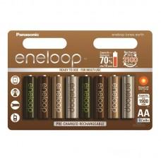 Аккумуляторы Panasonic Eneloop Tones Earth АА 2000 mAh (min.1900mah), 8 шт./уп. (BK-3MCCE/8UE)