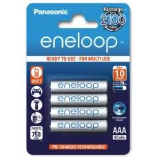 Аккумуляторы Panasonic Eneloop AAA 800 mAh (min.750mah), 4 шт./уп. (BK-4MCCE/4BE)