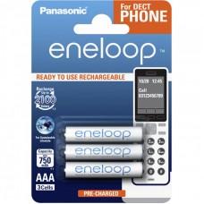 Аккумуляторы Panasonic Eneloop AAA 800 mAh (min.750mah), 3 шт./уп. (BK-4MCCE/3DE)