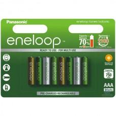 Аккумуляторы Panasonic Eneloop Tones Botanic АAА 800 mAh (min.750mah), 8 шт./уп. (BK-4MCCE/8TE)